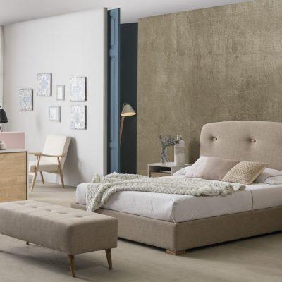 Cama tapizada Bergen 2303